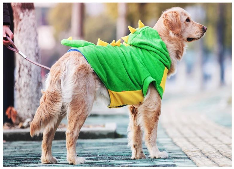 Big Size Fleece Large Dog Clothes Pet Clothing Golden Retriever Coat