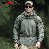 2019 New Men Softshell Military Tactical Jacket Army Combat Hiking Jackets Slim Fit Windbreaker Male Trekking Hunt Outwear Coat
