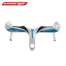 Ullicyc carbon road bicycle cycling handlebar carbon bike parts drop handle bars and Stem integrative 400/420/440mm 28.6mm