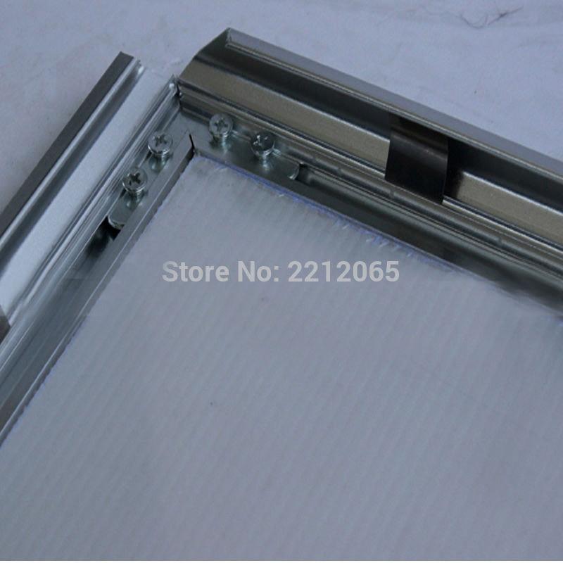 5 unidades/Lot) carga frontal de aluminio anodizado complemento ...