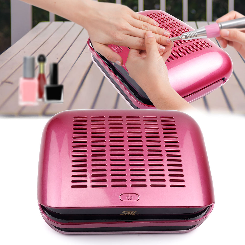 68W Strong Portable Nail Collecting Dust Collector Professional Nails Art Equipment vacuum cleaner manicure Machine