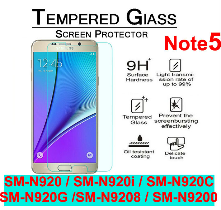 0.26mm 9h 2.5d Round Edge Tempered Glass Film For Samsung Galaxy Note 2 3 4 5 A3 A5 A7 2015 2016 With Clean Tools Fashionable And Attractive Packages