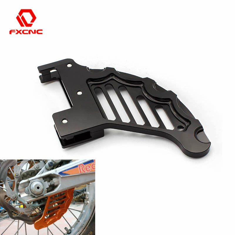 Motorcycle Rear Brake Disc Rotor Guard Protector For Husqvarna TC FC TX FX 125cc-450cc TE FE 125cc-501cc <font><b>2014</b></font> 2015 2016 image