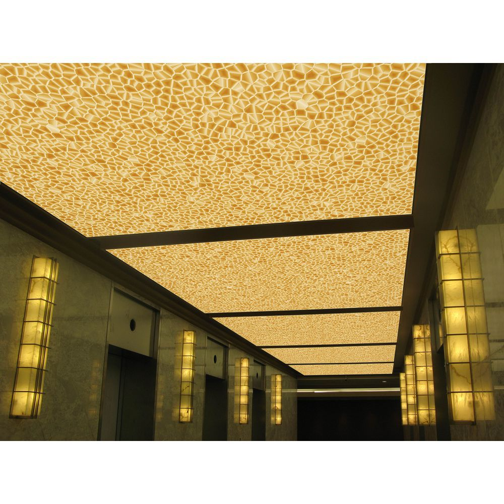 Elastic Roof Uv Print Pvc Ceiling Film Up To 5 Meters Wide With Water Fire Proof Quality Wallpapers Aliexpress
