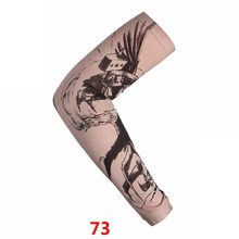 Татуировка Рукав Мода Рукава Утеплитель Мужчины Панк Мода Нейлон Эластичный Временная Роспись Тела