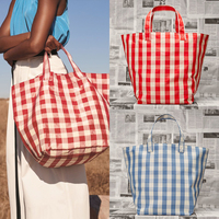 New Style Brand Casual Tote Plaid Large capacity Shopping Bag Women Handbag Tote Bag Trend Bag