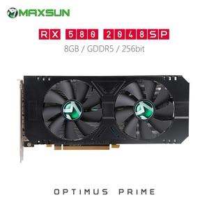 Original MAXSUN Radeon RX580 2