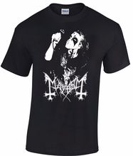 MAYHEM Dead T-shirt Norwegian Black Metal Morbid Euronymous Beherit Darkthrone Teenage Natural Cotton Printed Top Tee T SHIRT