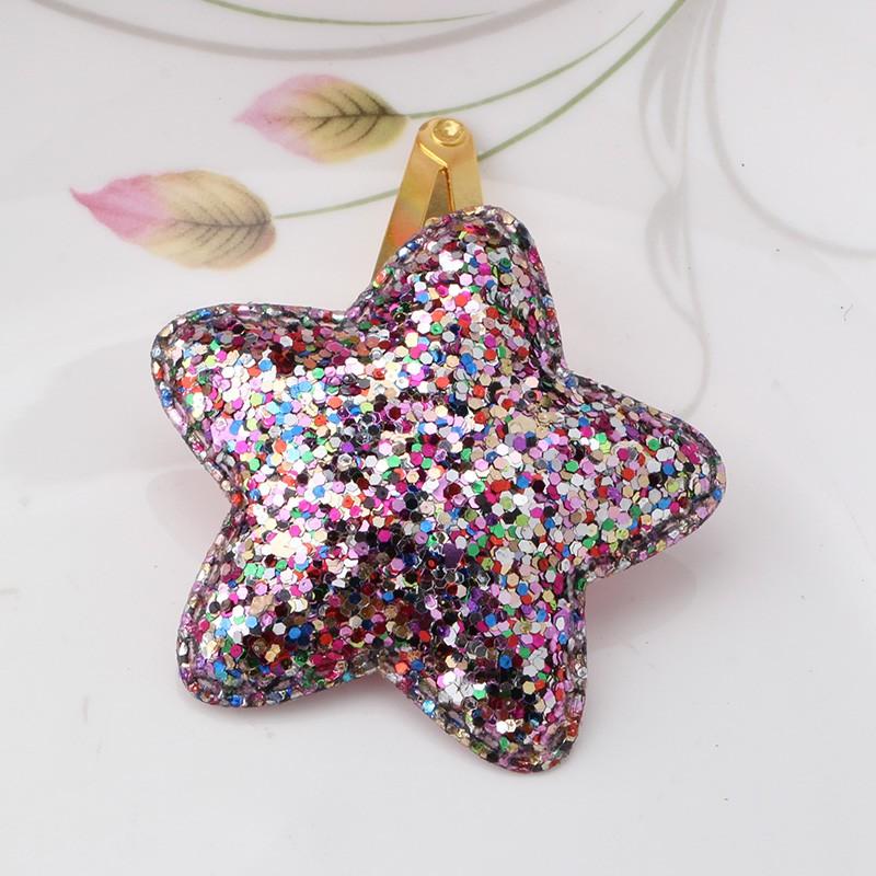 HTB1fvjOJFXXXXXMXpXXq6xXFXXXP Sparkling Glitter Sequins Heart Butterfly Stars Girl Hair Clip - 3 Styles