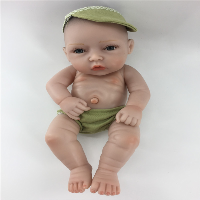 купить 25cm-28cm silicone reborn babies dolls lifelike newborn baby doll bathing toys Christmas gifts for birthday gifts по цене 1096.5 рублей