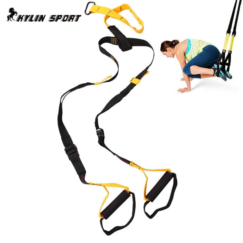 2018 TRip60X подвесной тренировочный ремень Эспандеры для профессионального фитнеса тянущаяся веревка анти сопротивление силовой тренировки мышц - 2
