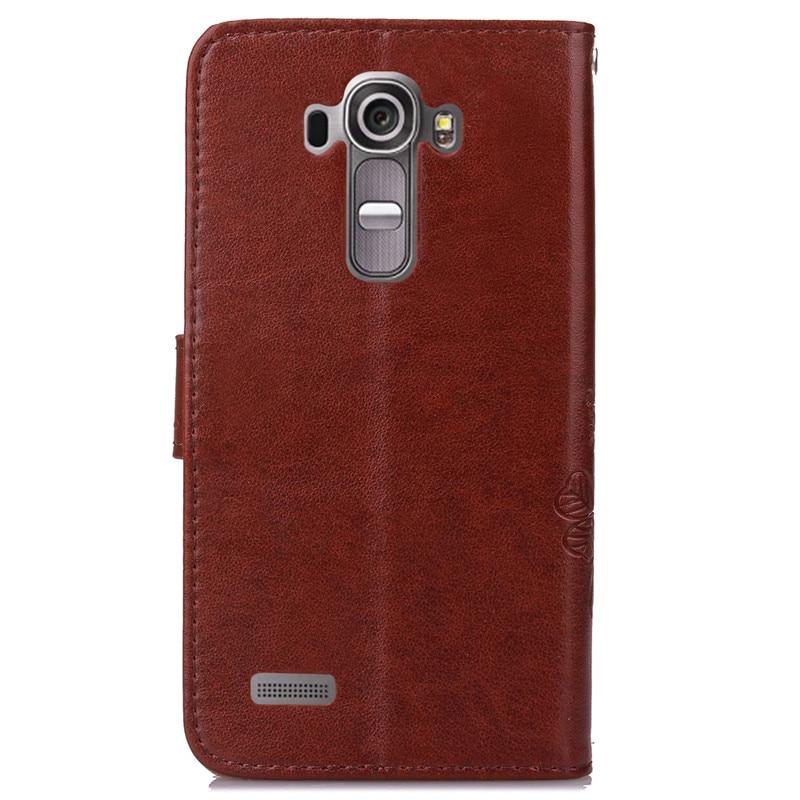 Untuk LG G4 LGG4 Dompet Kulit Balik Kasus Pencetakan Back Cover Untuk - Aksesori dan suku cadang ponsel - Foto 3