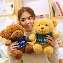 2019 New 25cm/30cm Cute Bear Sweet Cute Lovely Stuffed Baby Kids Toys for Girls Birthday Christmas Gift Cute Girl 40cm Baby Doll(China)