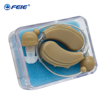 2019 FEIE Newest Mini Hearing Aid  , Hearing Aid Behind the Ear, BTE Rechargeable Hearing Aid  S-109S free shipping