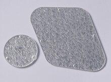 Alta calidad Silver sparkle LP Placa de control y el interruptor cavidad cubierta para ee.uu. Gibson Les Paul