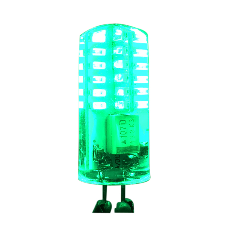 New! G4 AC12V DC12V SMD3014 3W LED Bombillas Pretty Bulb Red Green Blue Lamp Corn Light Silica-gel Bulbs 10pcs/lot