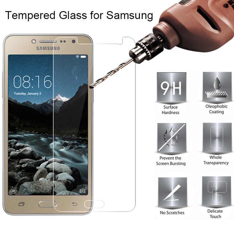 מזג זכוכית Toughed 9H HD מגן זכוכית עבור Samsung S7 S6 S5 S4 מיני מסך מגן על גלקסי S3 neo S2