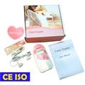 CE ISO 2.5mhz LCD Screen! Fetal doppler Cute Pink Prenatal monitor earphone+video cable+Gel
