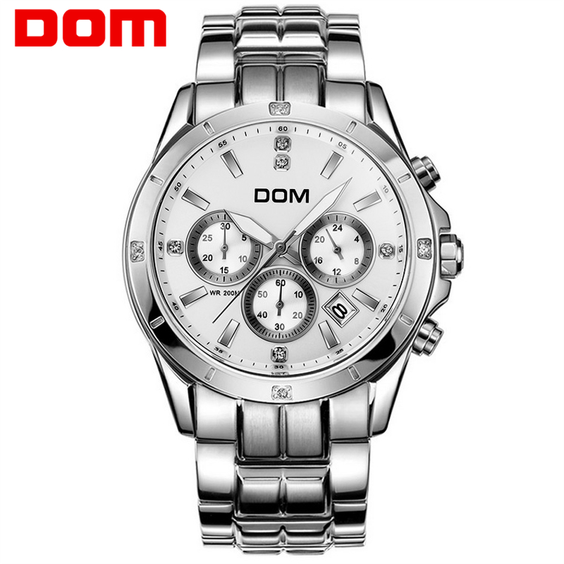 DOM multifunctional mens watches luminous steel sheet timep waterproof sports casual male watch M510 dom multifunctional mens watches luminous steel sheet timep waterproof sports casual male watch m510