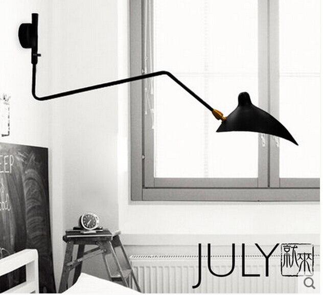scandinavian wall sconces  Classic models simple and modern Scandinavian IKEA designer desk ...