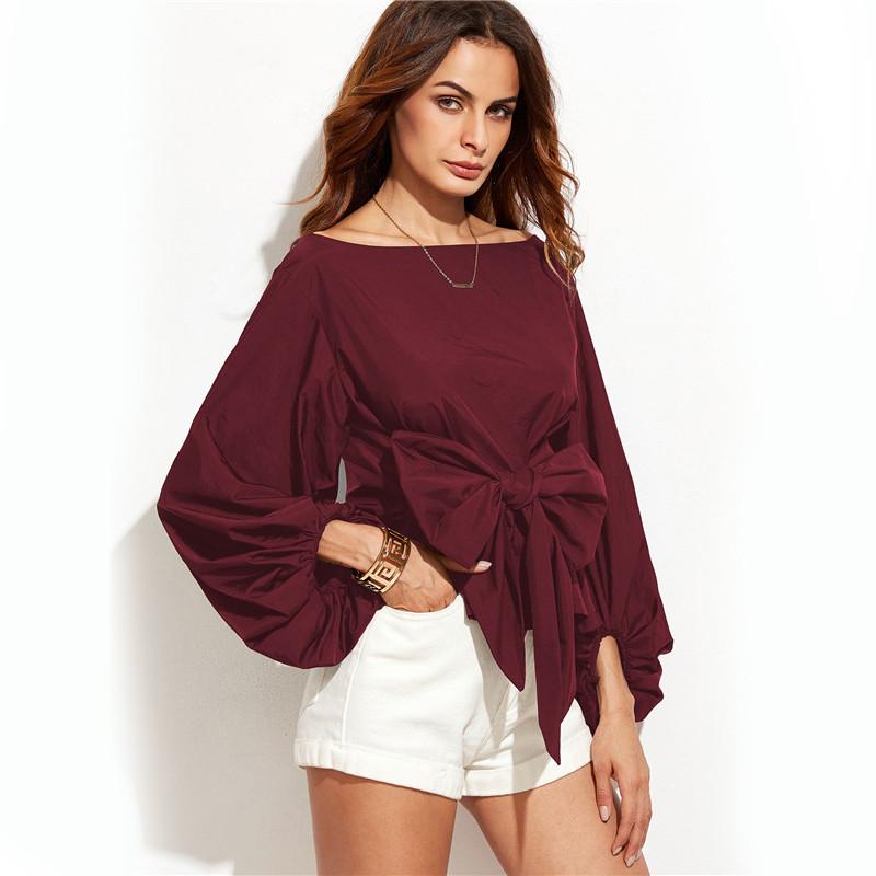 HTB1fvmVNVXXXXbUXXXXq6xXFXXXc - Shirts Women Tops Long Sleeve Lantern Sleeve Blouse