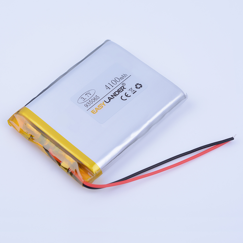 935065 <font><b>3.7V</b></font> <font><b>4100mAh</b></font> Rechargeable li-Polymer Li-ion <font><b>Battery</b></font> For E-book Vedio power bank Tablet PC mobile dvd DVR Speaker 904965 image