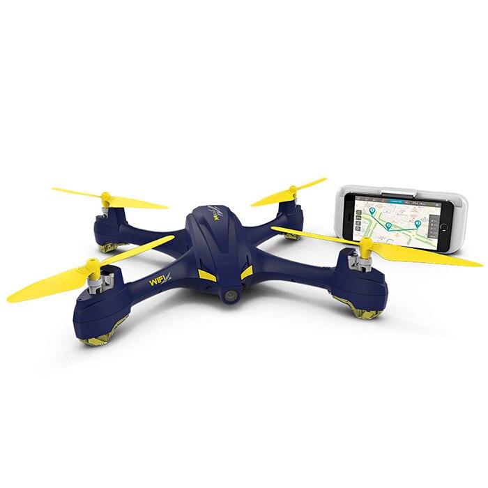 H507A X4 Estrela Pro GPS Zangão RC HUBSAN FPV Wi-fi 720 p HD Câmera Zangão Siga-me/Modo de Órbita corridas de RC Quadcopter BNF RTF Zangão