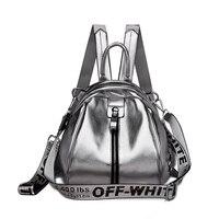 women backpack soft leather small bag pack female travel backpack mini shining leather female school backpack for teen girls bag
