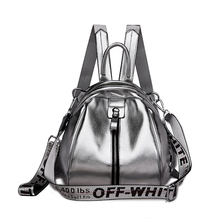 women backpack soft leather small bag pack female travel mini shining school for teen girls
