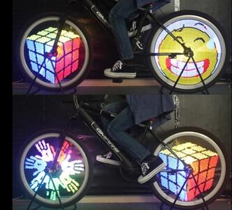 fahrrad led speichen