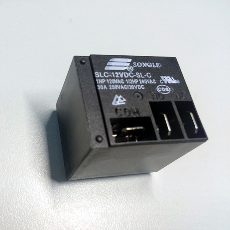 Relés De Potência 5 pçs/lote SLC-12VDC-SL-C 30C T91 HF2100 5PIN UM grupo de normalmente aberto