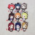 Love Live Lovelive Sunshine Anime Takami Chika Watanabe You Tsushima Yoshiko Aqours 2 Rubber Resin Kawaii Keychain Pendant