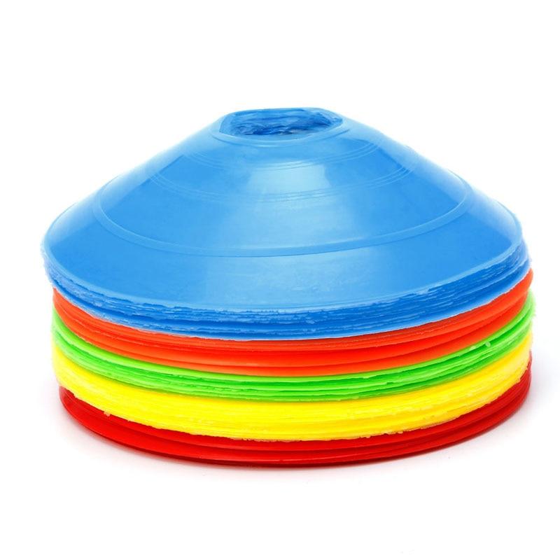 10pcs/lot 19cm Cones Marker Discs Soccer Football Training Sports Entertainment Sports & Entertainment