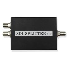 SDI Splitter 1x2 Multimedia Split SDI Extender 1 to 2 Ports Adapter Support 1080P TV Video For Projector Monitor Camera