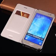 Slim Wallet Leather Case Flip Back Cover Shell Card Holder Holster Protective For Samsung Galaxy J5 J500 J500F J500H J500M