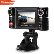 Big sale F30 2.7 inch Car DVR Camera Video Driving Recorder HD Dual Lens Dashboard Vehicle Camcorder
