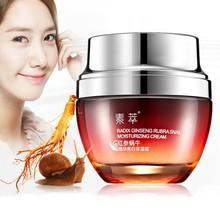 Useful Red Ginseng Snail Cream Face Black Head Acne Whitening Anti Winkle Women Lady Cream Beauty Health Hot