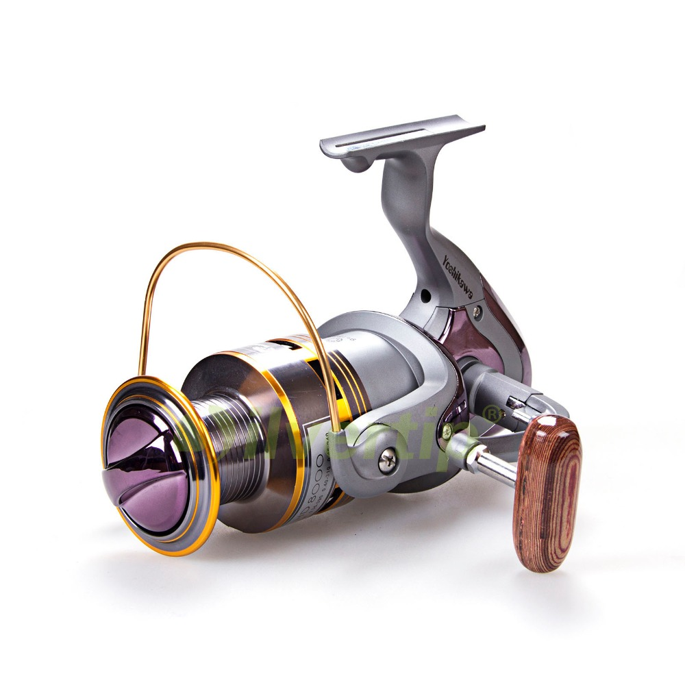 ФОТО Free Shipping New Big Game 9+1 BB Spinning Fishing Reel HD8000 4.1:1 Sea Saltwater Yoshikawa