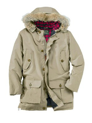 1e49881c33d1 Woolrich Men Arctic Parka White Jacket-in Parkas from Men's Clothing ...