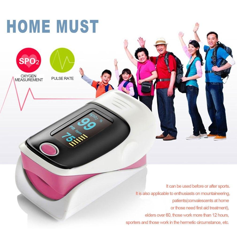 2018 Новый Портативный пальца Пульсоксиметр с OLED Дисплей кислорода крови оксиметра Мониторы измерение пульса инструмент 3 Цвета