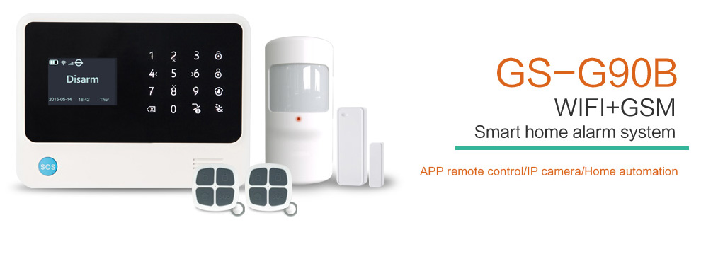 HTB1fvpcdjfguuRjSspkq6xchpXa4 - Free shipping from Russian Spain 3g gsm wifi alarm Android IOS mobile phone control smart home burglar alarm system