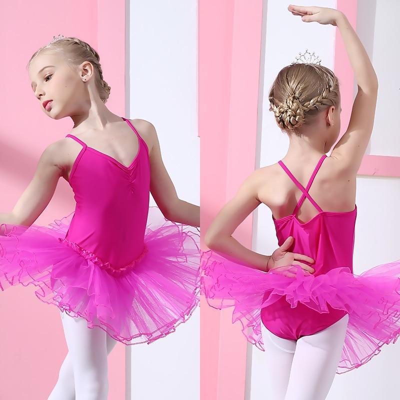7 Colors Cute Girls Ballet Dress For Children Girl Dance Clothing Kids Ballet Costumes For Girls Dance Leotard Girl Dancewear