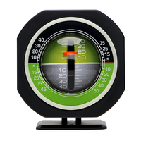 Inclinometer Angle Auto Slope Meter Level Built In LED Car Vehicle Declinometer Gradient Car Compass High