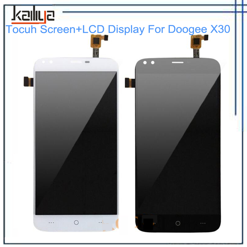 For Doogee X30 LCD Display +TouchScreen Digitizer Assembly Replacement For Doogee X30 LCD Screen 5.5 Touch Panel Sensor Lens