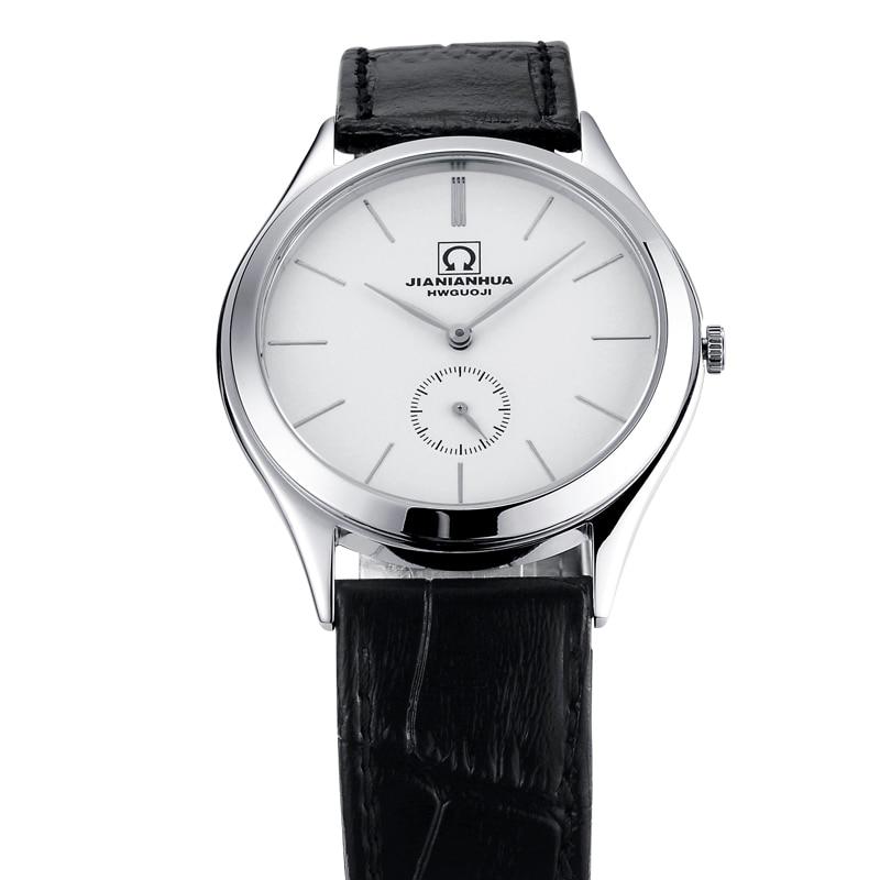 Men Watches Japan Quartz Switzerland Carnival Luxury Brand Watch Men Genuine Leather Watch Male Waterproof reloj hombre C8517-3 цена и фото