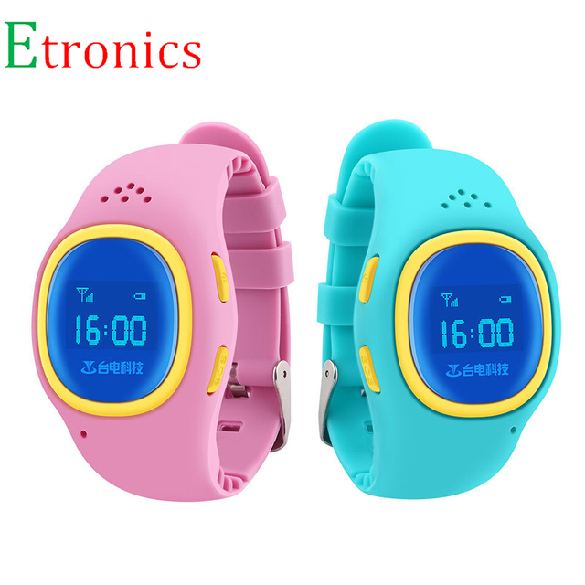 Kids GPS Smart Watch Phone Children Anti-lost Tracker Locator Watch for iPphone Android Smartphones