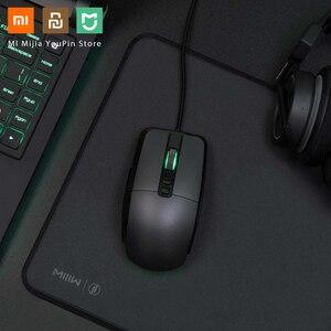 Image 3 - Oryginalna mysz bezprzewodowa Xiaomi USB 2.4GHz 7200DPI RGB podświetlenie mysz optyczna do komputera