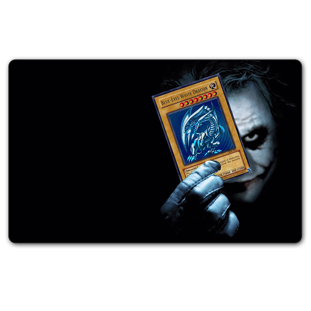 (YGO 06 Playmat) 35X60CM YU-GI-OH Joker Play Mat YGO Card Games Table Pad with Free Gift Bag Can Also Do Custom Print Service