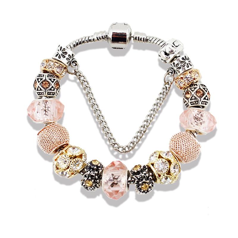 aliexpress buy viovia silver charm bracelet