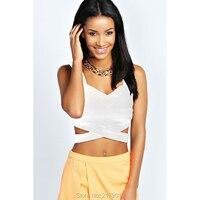 Women Chiffon Tank Top New Summer Sleeveless Shirt Sexy V-neck Cami Casual Female Tops Plus Size Vest Ladies Clothing B0046